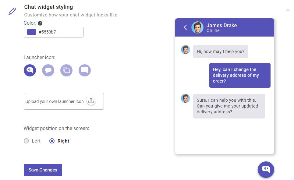 Customization · Developer Docs   Kommunicate